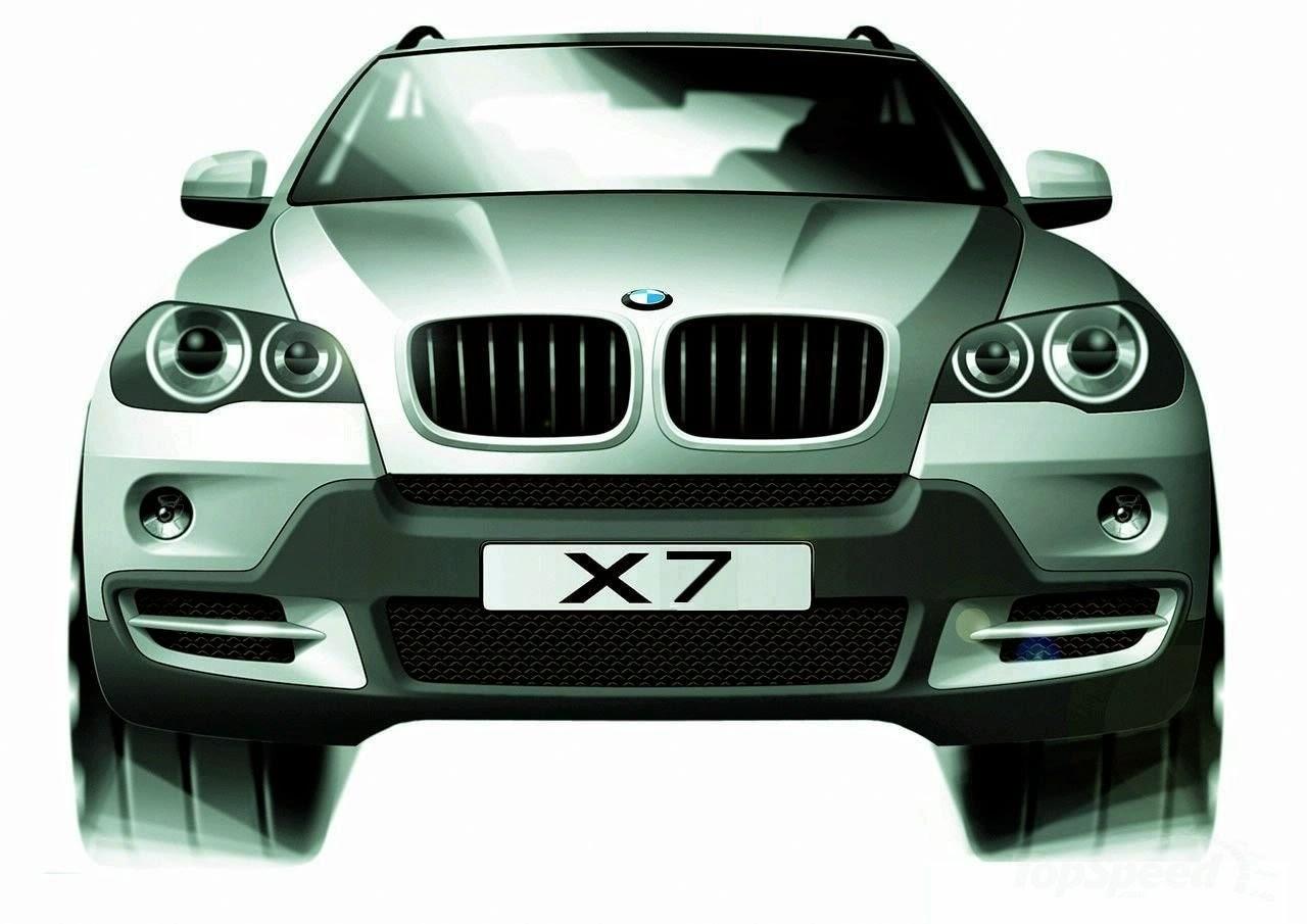 BMW готовится к выпуску кроссовера X7 1