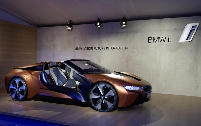 BMW выпустит три модели электрокаров 1