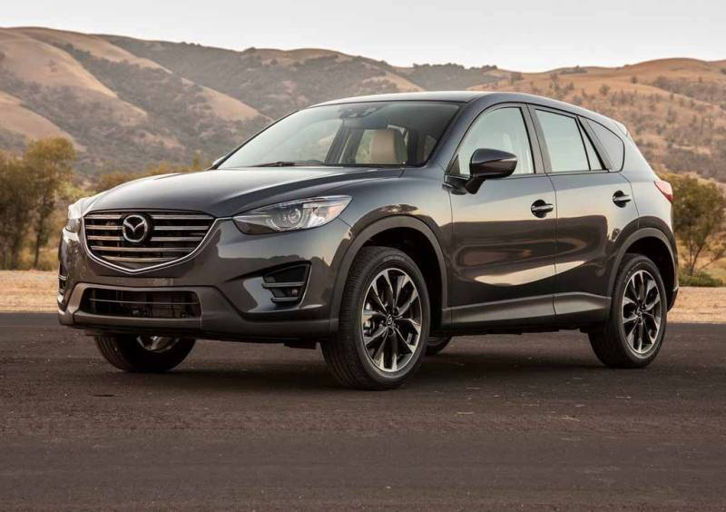 Представлено новую Mazda CX-5 1
