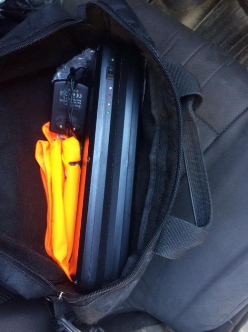 Автомобильные угонщики «попались на горячем» 2