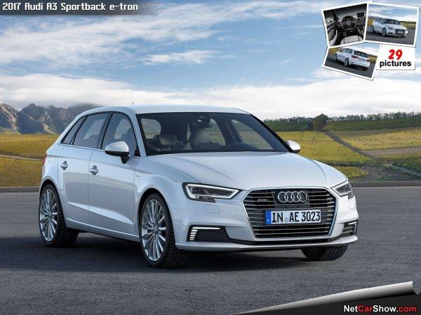 Новая модель Audi A3 станет электромобилем 1