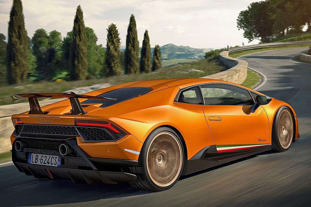«Неистовая мощность»: тест-драйв Lamborghini Huracan 3