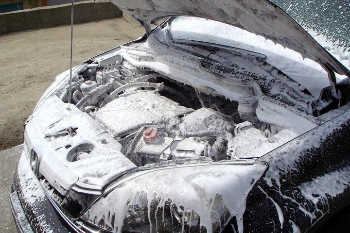 Как не нужно мыть автомобиль 4