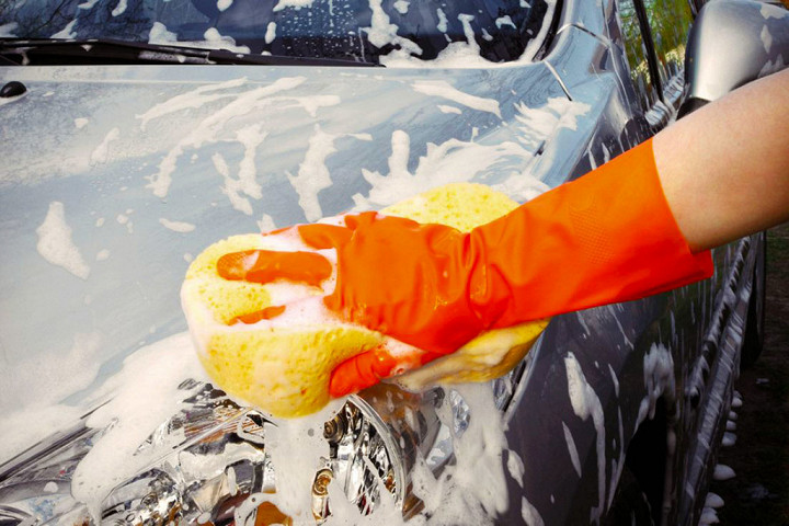 Как не нужно мыть автомобиль 3