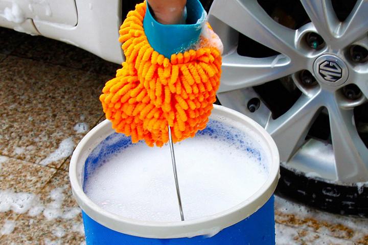 Как не нужно мыть автомобиль 2