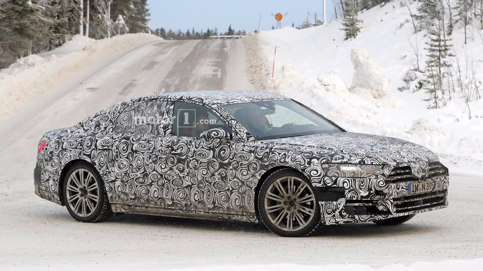 В компании Audi рассказали о составе кузова новой A8 2
