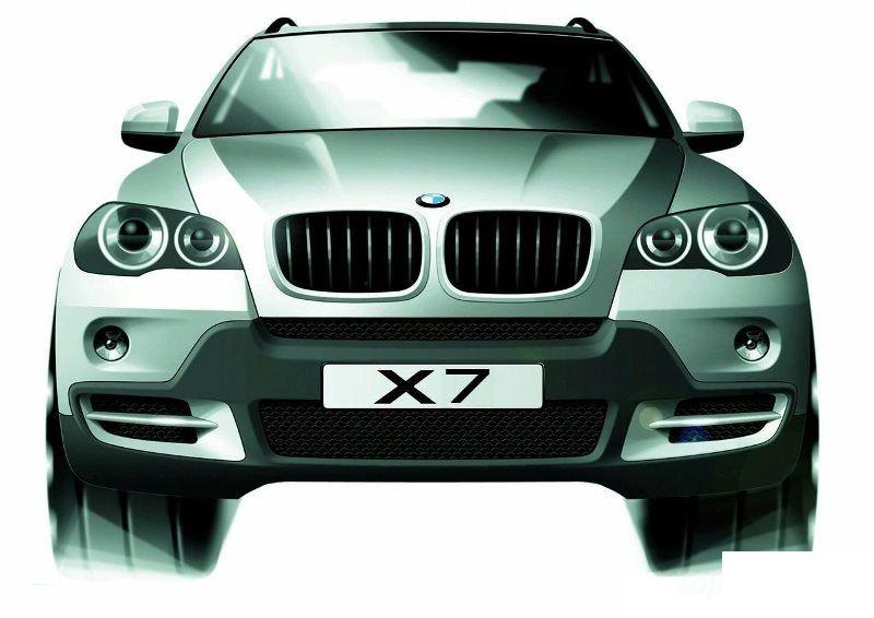 В BMW «рассказали правду» о новом X7 1