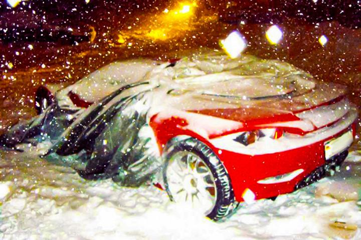 На парковке «забыли» редчайший суперкар 1