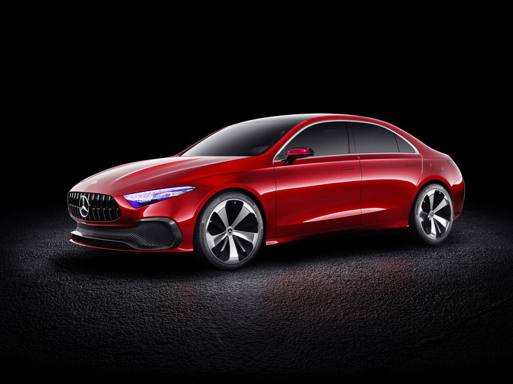 «Чувственная чистота» — новый дизайн марки Mercedes-Benz 1