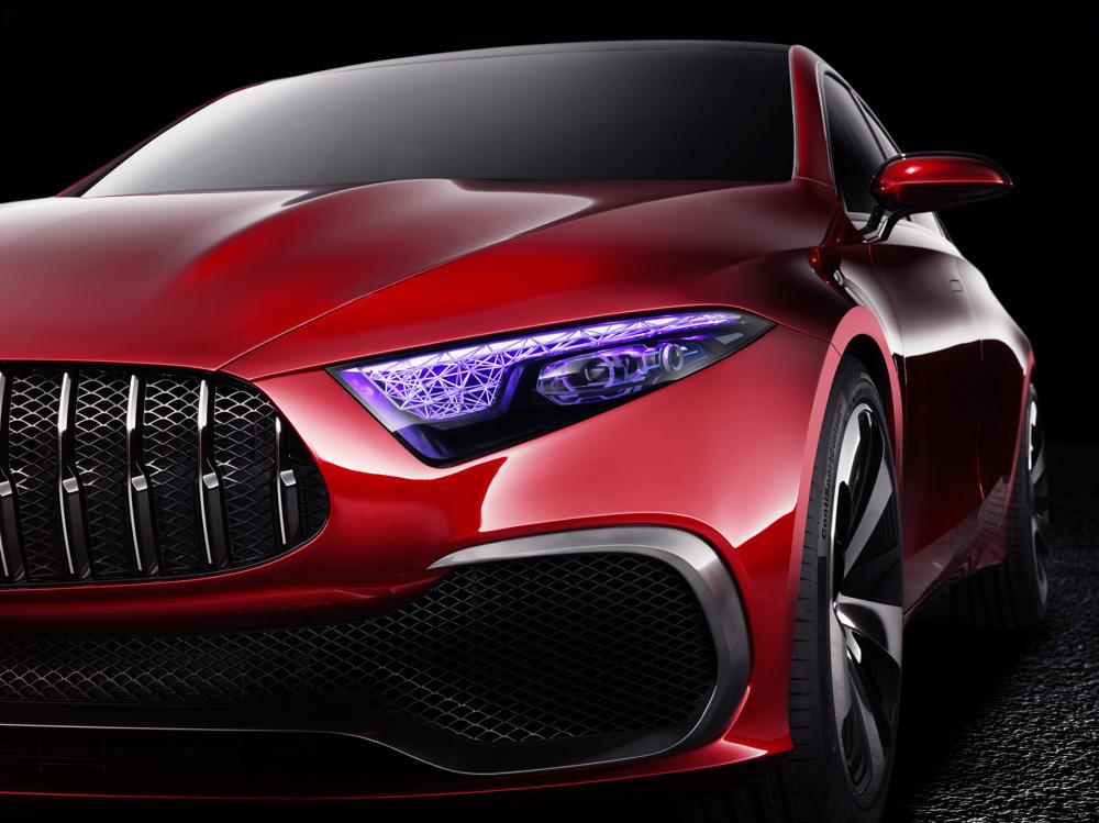 «Чувственная чистота» — новый дизайн марки Mercedes-Benz 2