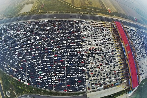 В Китае число автомобилей достигло 200 миллионов 1