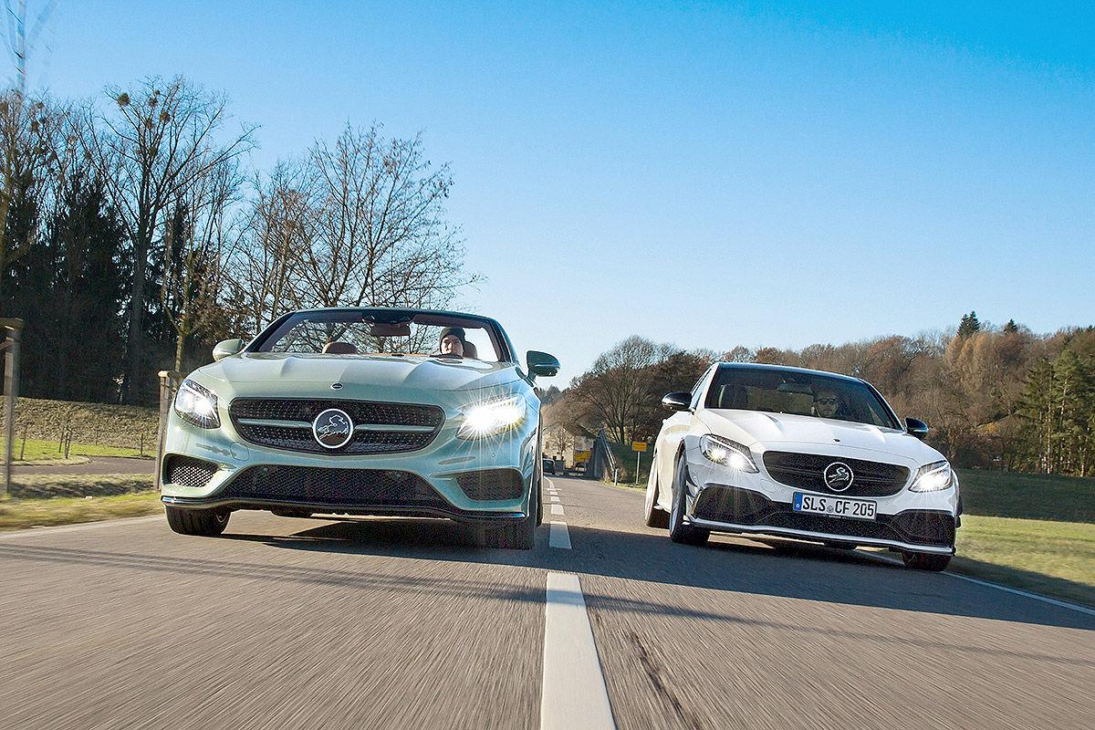 «Мистер скорость»: тест-драйв Mercedes CC 63S 1