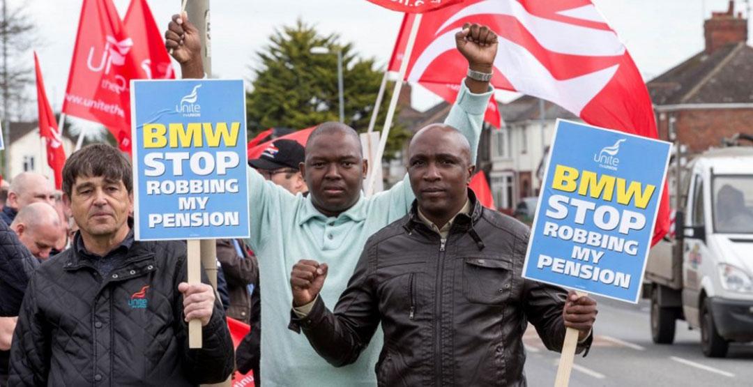 Рабочие завода BMW впервые устроили забастовку 1