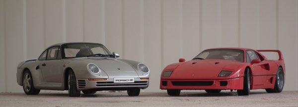 На аукционе появились «сразу 2 странные» Ferrari и Porsche 1