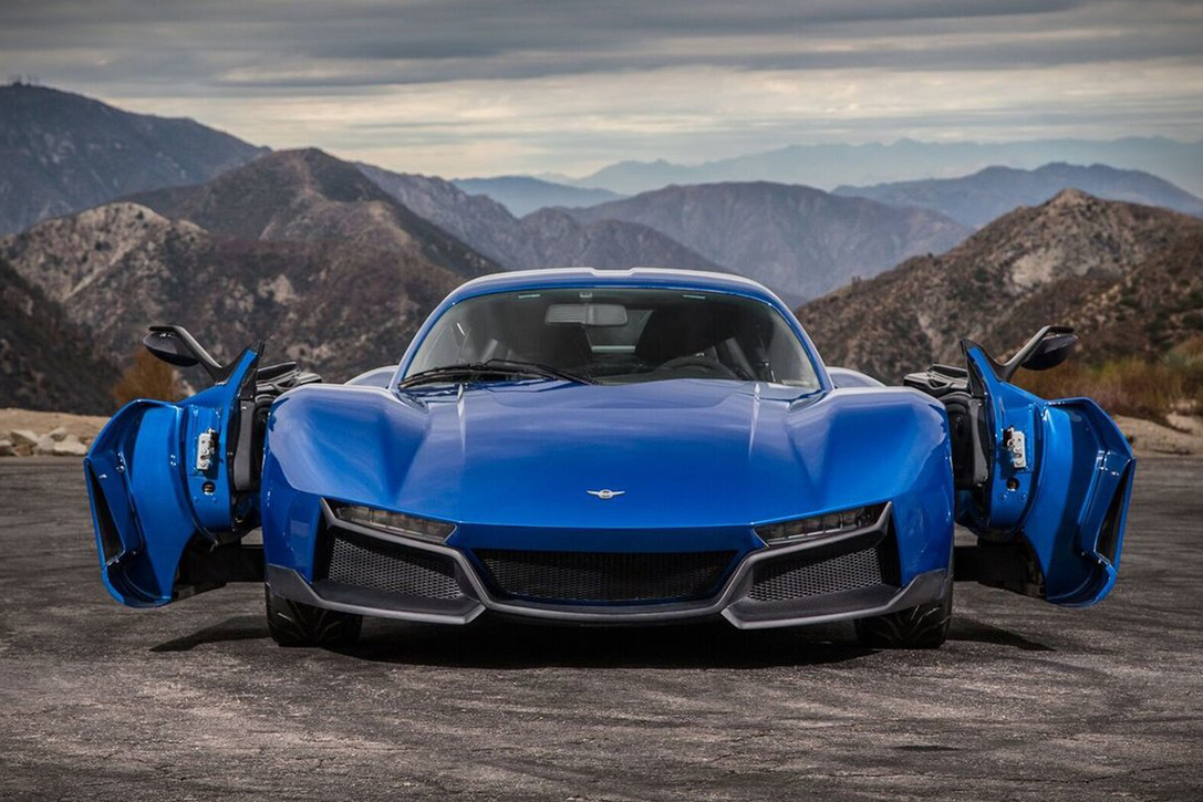 Компания Rezvani представит «убийцу Porsche» 1