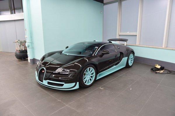 На аукцион выставили единственный Bugatti Veyron Tiffany Edition 1