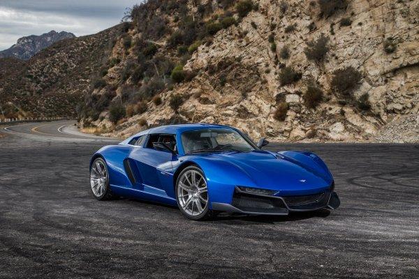 В Rezvani показали «роскошный суперкар, назвав его бюджетным» 1