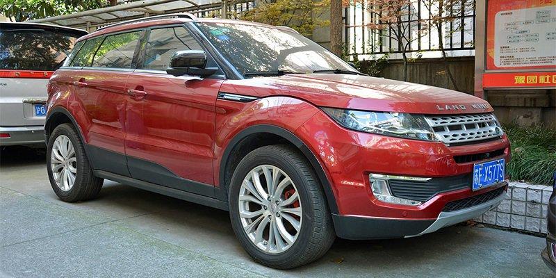 Марка Land Rover готова бороться с китайскими «клонами» своих машин 1