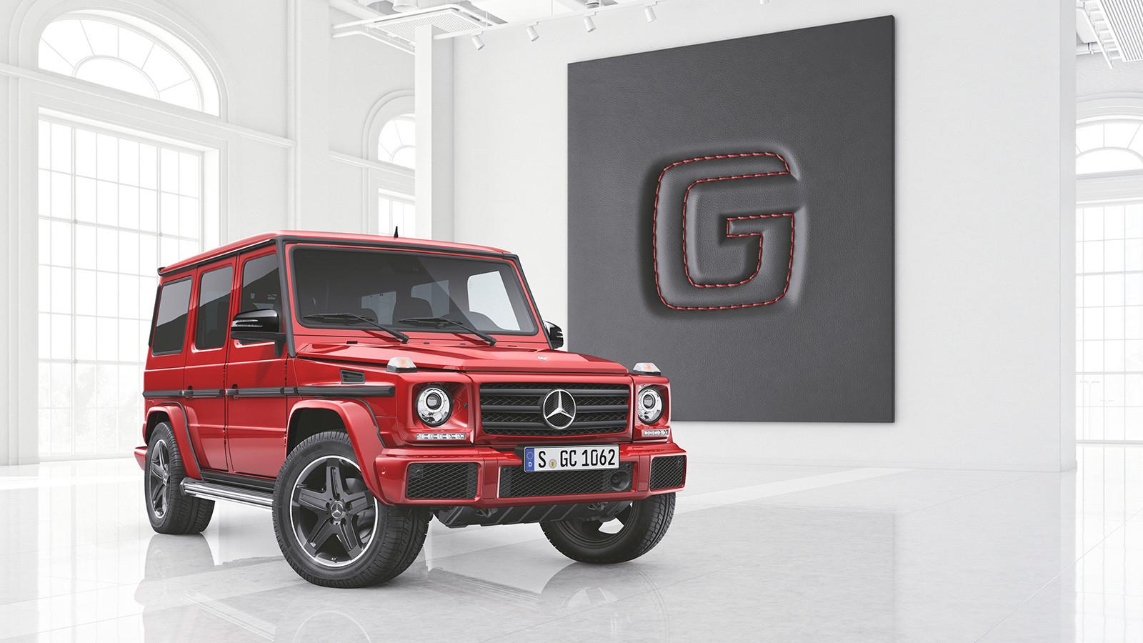 Mercedes представил новые версии Gelandewagen 1