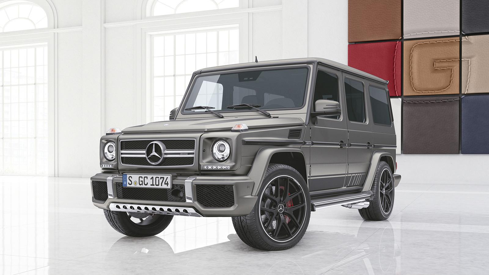 Mercedes представил новые версии Gelandewagen 2