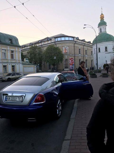 Соцсети «шокировал» украинский священник на Rolls-Royce 2