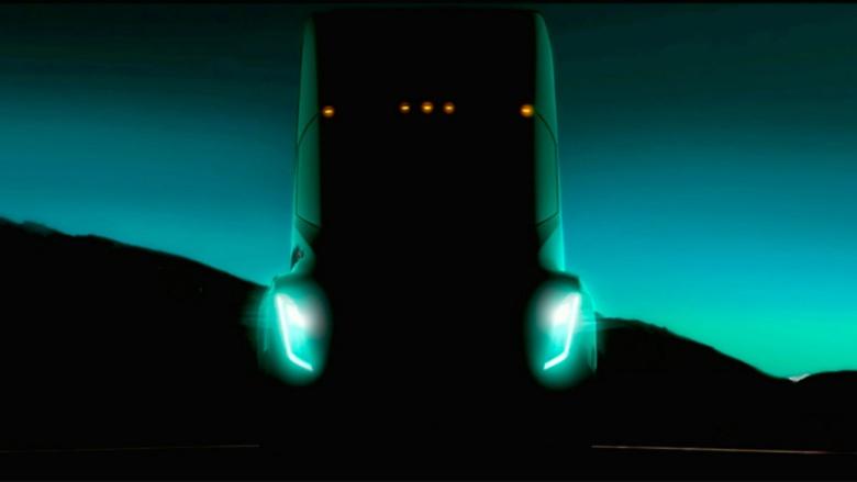 Компания Tesla показала часть нового грузовика 1