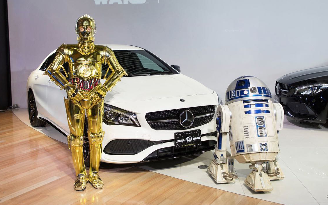 Марка Mercedes-Benz выпустила ограниченную серию авто 1
