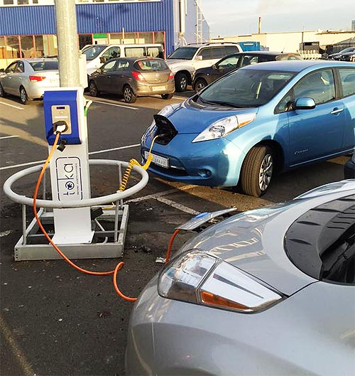 Какие электромобили в Украине наиболее популярны 1