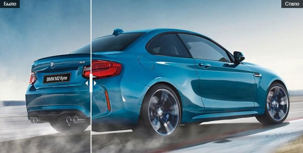 Обновлённый BMW M2 мало отличается от предшественника 2