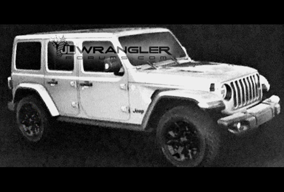 Названа дата дебюта нового Jeep Wrangler 1