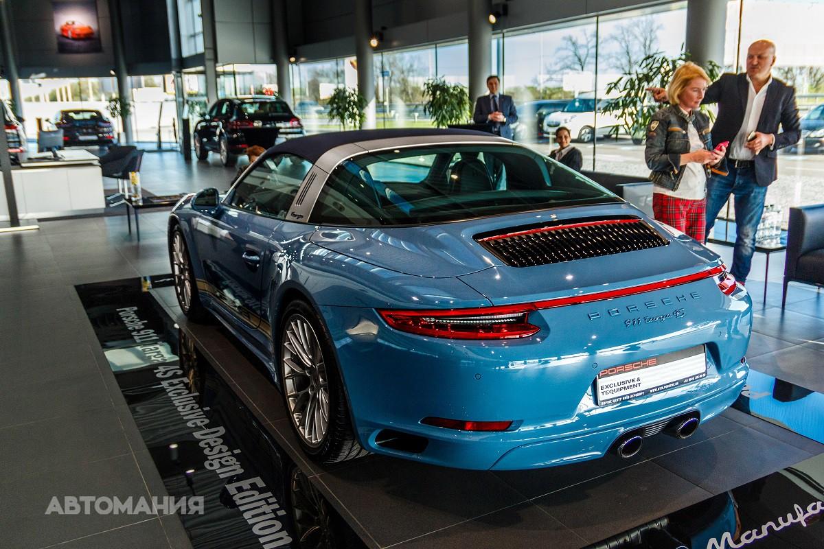 В Украину привезли «самый необычный и редкий» Porsche 1