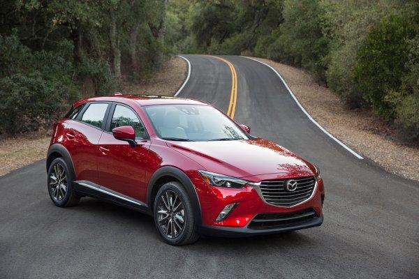 Компания Mazda презентовала всего 500 автомобилей CX-3 GT 1