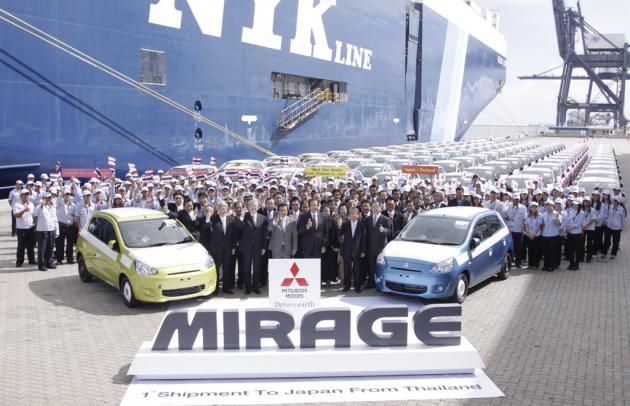 Mitsubishi «бьется насмерть» 1