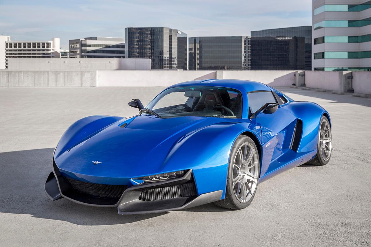 Компания Rezvani представит «убийцу Porsche» 2