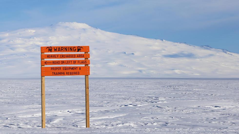 Hyundai Santa Fe испытывают холодом в Антарктиде 3