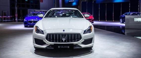 Компания Maserati привезла в Шанхай особый Quattroporte 1