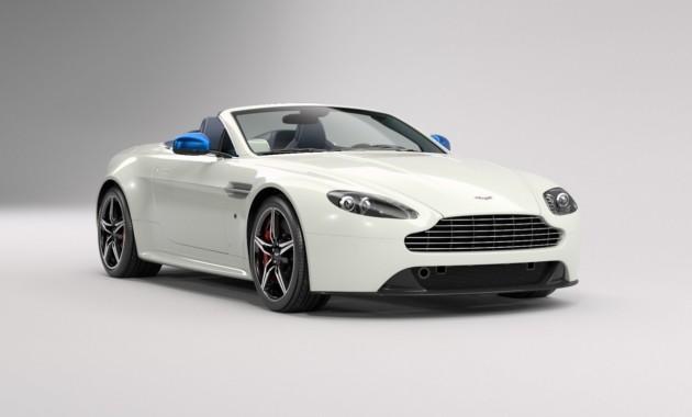 Aston Martin подготовил особый V8 Vantage 1