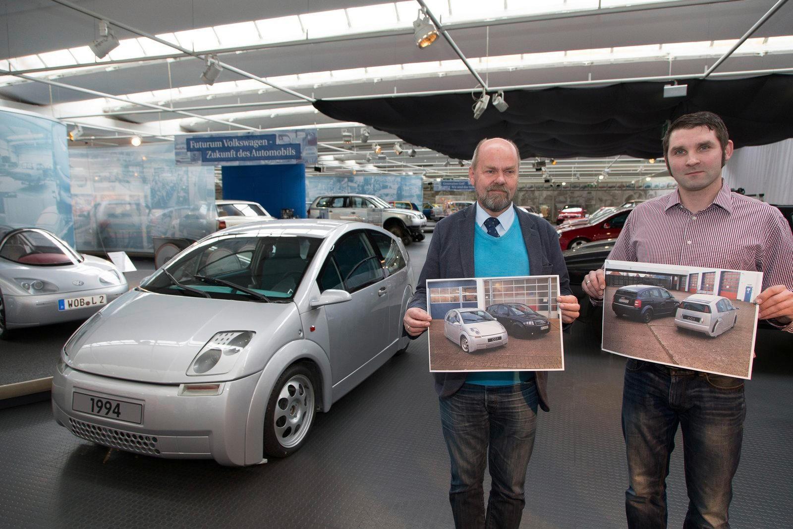 «Секретный» прототип VW выставили в музей 1