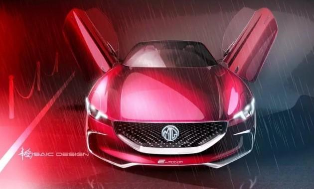 Спорткар MG наберет первую «сотню» менее чем за 4 секунды 1