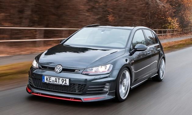 Volkswagen Golf обзавелся эксклюзивным обвесом 1