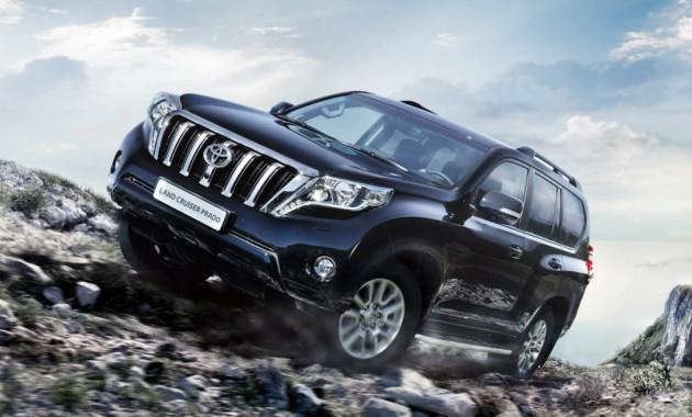 Toyota готовит к премьере обновлённый Land Cruiser Prado 1