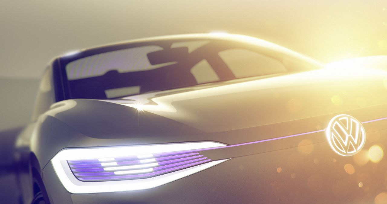 Volkswagen везет в Шанхай новое электрическое кросс-купе с автопилотом 1
