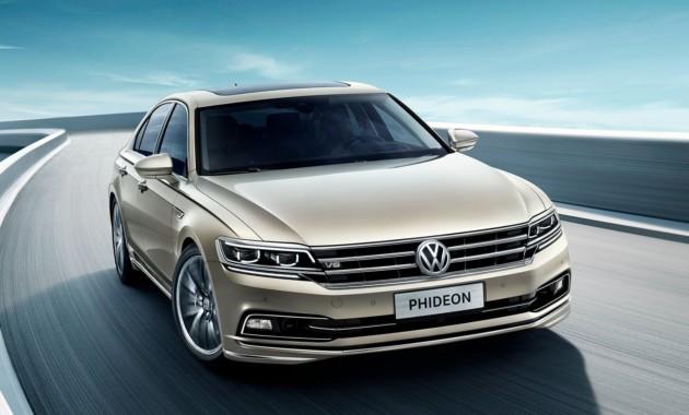 Седан Volkswagen Phideon получил гибридную версию 1