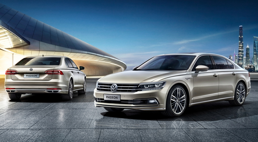 Седан Volkswagen Phideon получил гибридную версию 2