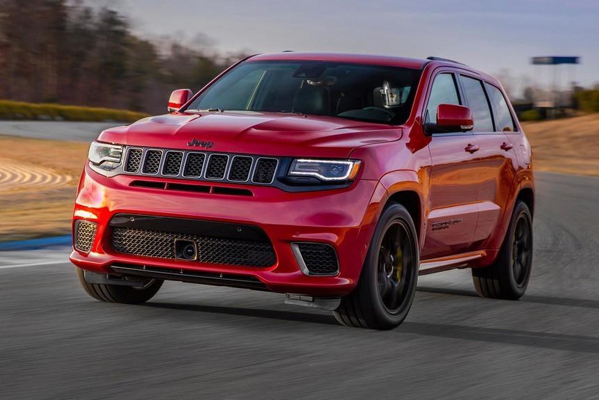 Новый Grand Cherokee станет самым мощным среди моделей Jeep 1