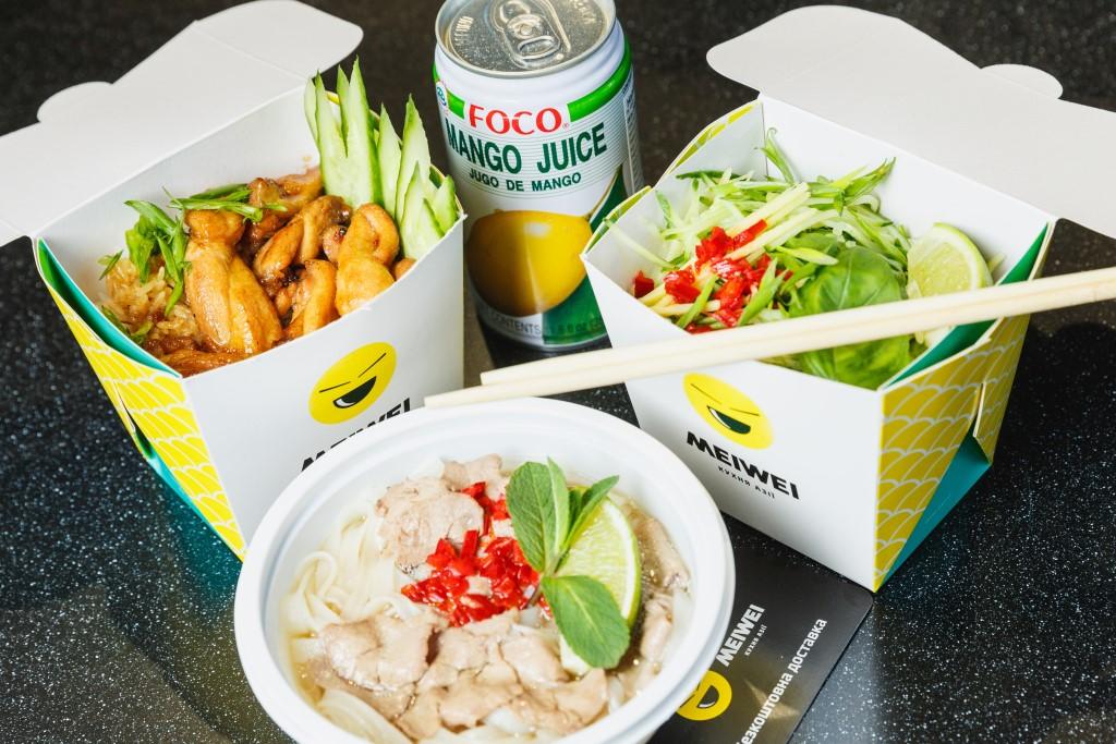 Ресторан Meiwei сети «ОККО» расширил зону бесплатной доставки 2