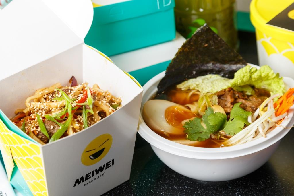 Ресторан Meiwei сети «ОККО» расширил зону бесплатной доставки 1
