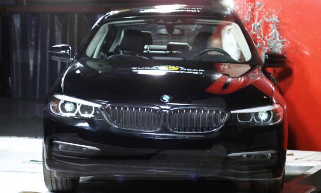Новый BMW 5 Series «удивил» результатами краш-теста 1