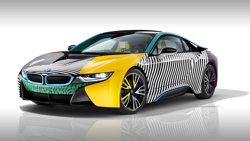 Особые BMW i3 и i8 посвятили дизайнерам мебели 1
