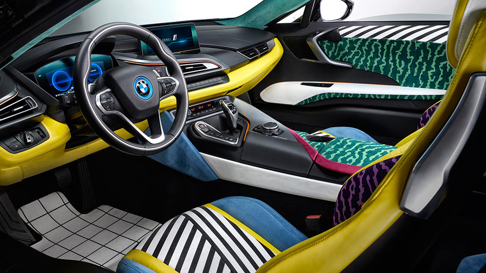 Особые BMW i3 и i8 посвятили дизайнерам мебели 3